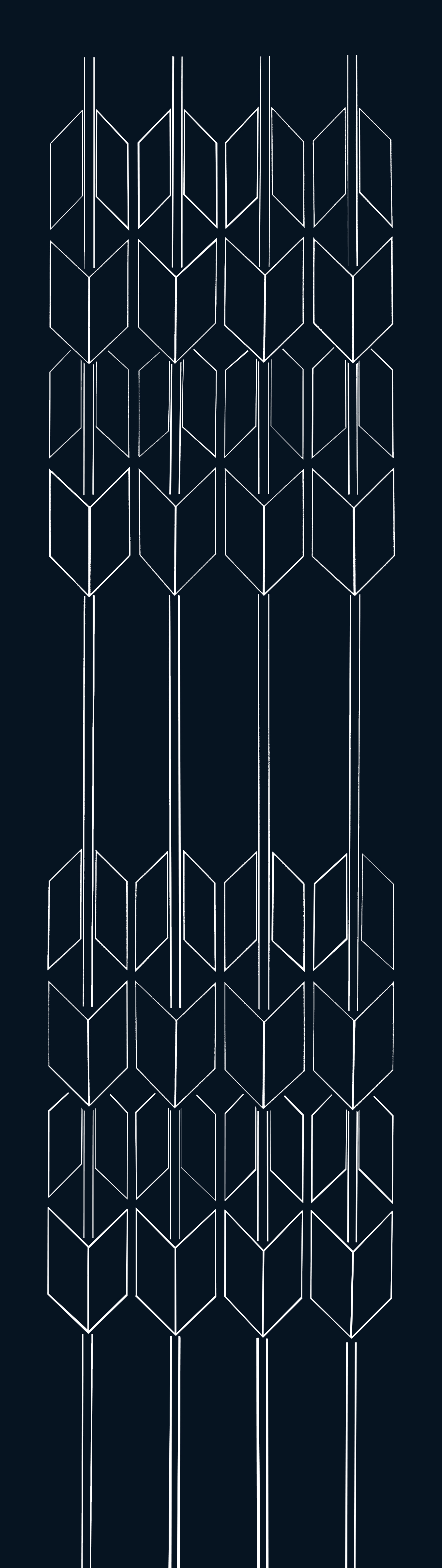 Doce cruces / Twelve crosses.